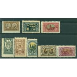 République de Lituanie centrale 1921 - Y & T n. 28/35 - Série courante