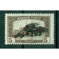 Hongrie 1919 - Y & T n. 282 - Timbre de 1919 surchargé