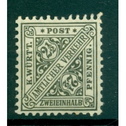 Wurttemberg 1916 - Y & T n. 237 - Official stamp