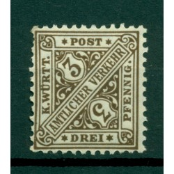 Wurttemberg 1906 - Y & T n. 228 - Official stamp
