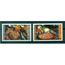 Polynésie Française 1986 - Y & T n. 261/262 - Gastronomie
