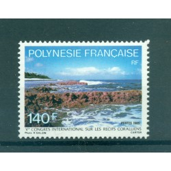 Polynésie Française 1985 - Y & T n. 236 - Recifs coralliens
