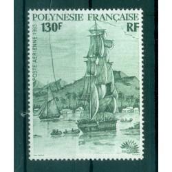 """Polynésie Française 1985 - Y & T n. 189 P.A. - Bateaux  """"ITALIA '85"""""""