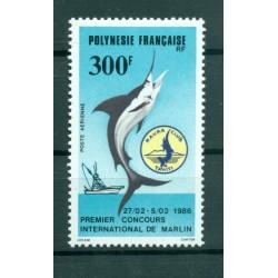 Polynésie Française 1986 - Y & T n. 190 P.A. - Marlin