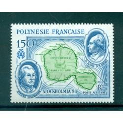 """Polynésie Française 1986 - Y & T n. 192 P.A. - Carte """"STOCKHOLMIA '86"""""""