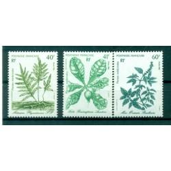 Polynésie Française 1986 - Y & T n. 268/270 - Plantes médicinales