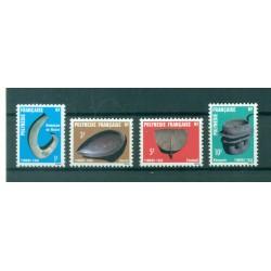 Polynésie Française 1984 - Y & T n. 4/7 T.T. - Artisanat