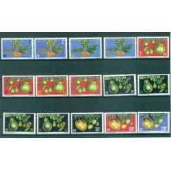 Polynésie Française 1977 - Mi n. D 1A/15A - Fruits