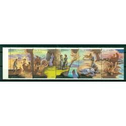 USSR 1989 - Y & T n. 5684/88 - James Fenimore Cooper