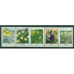 USSR 1975 - Y & T n. 4210/14 - Flowers