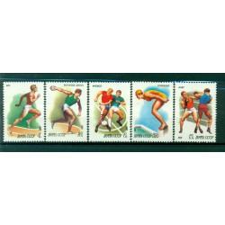 Russie - USSR 1981 - Michel n. 5081/85 - Sport **