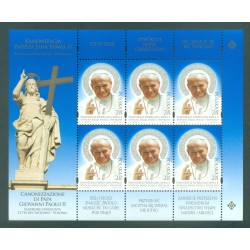 Pologne 2014 - Mi. n. 4668KB - Pape Jean Paul II Canonisation