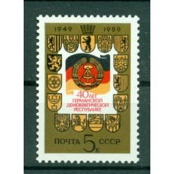 URSS 1989 - Y & T n. 5675 - République Démocratique Allemande