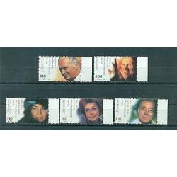 Allemagne -Germany 2000 - Michel n. 2143/47 - Acteurs de cinéma  **