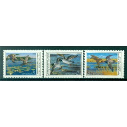 USSR 1990 - Y & T n. 5761/63 - Wild ducks