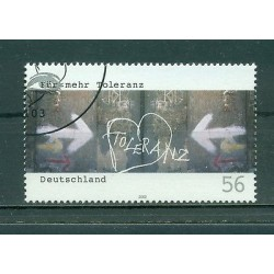 Allemagne -Germany 2002 - Michel n. 2235 - Campagne pour plus de tolérance