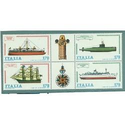 Italie 1979 - Mi. n. 1673/1676 - Bateaux III