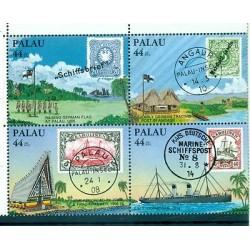 BATEAUX - SHIPS PALAU 1985 Stamp on Stamp