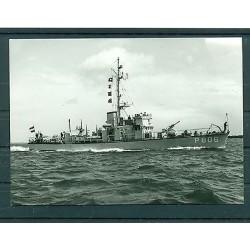 Germany 1971 - Postcard battleship  Hefring P 806