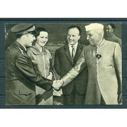 Carte Postale Russie 1969 - Gagarin - Jawaharlal Nehru