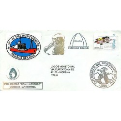 Espagne - Spain - Enveloppe 1998 - Stanley - Falkland Islands - Ushuaia