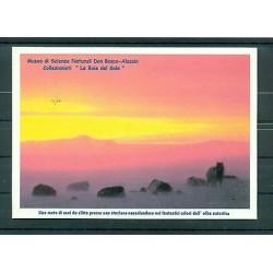 Italie - Carte postale 2001 - Une meute de chiens de traîneau