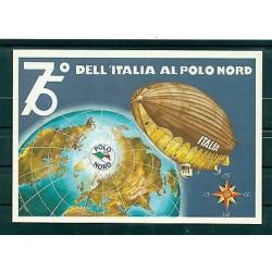 Italie - Carte postale 2003 - 75e anniversaire du dirigeable Italie