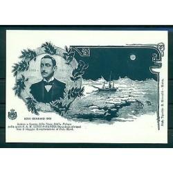 Italie 2001 - Carte postale centenaire de l'expédition polaire d'Amedeo di Savoia