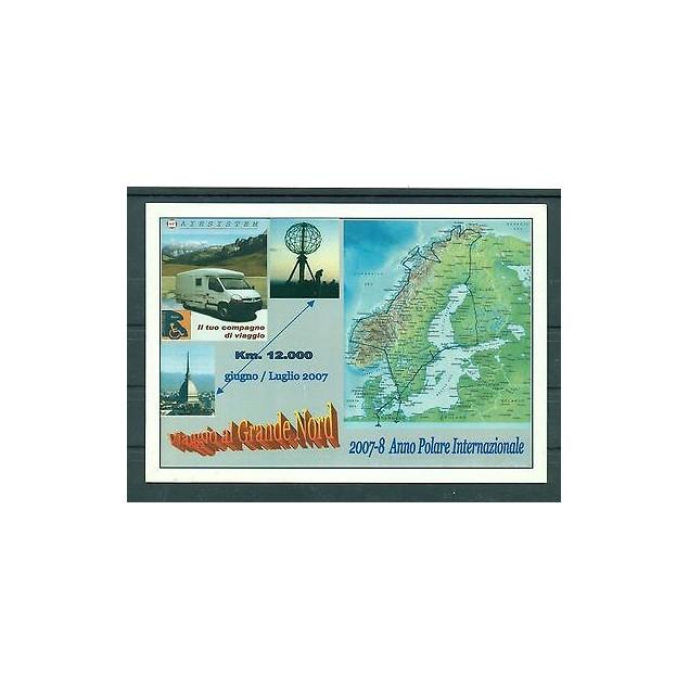 Italie - Carte postale 2008 - 2007/2008: Année polaire internationale