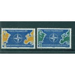 Italie  1959 - Y & T n. 781/82 - 10e anniversaire de l'OTAN