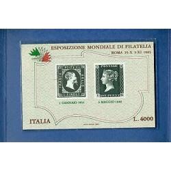 Italie  1985 - Y & T feuillet n. 3 - Exposition Philatélique ITALIA '85