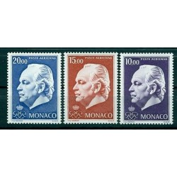 Monaco 1974 - Y & T  n. 97/99  air mail - Definitives