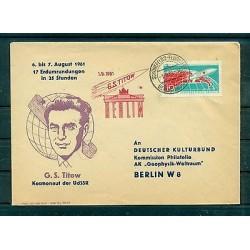 Allemagne - RDA 1961 - Cosmonaute Guerman Titov