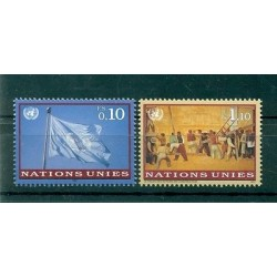 Nations Unies Genève 1997 - Y & T n. 323/24 -  Série courante