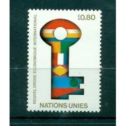 Nations Unies Genève  1980 - Y & T n. 88 - Nouvel Ordre économique international