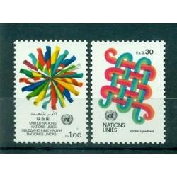 Nations Unies Genève  1982 - Y & T n. 103/04 - Série courante