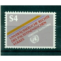 United Nations Vienna 1981 - Y & T n. 16 -  Inalienable Rights of the Palestinian People