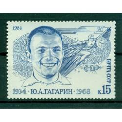 USSR 1984 - Y & T n. 5080 - Yuri Gagarin