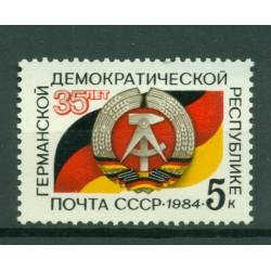 URSS 1984 - Y & T n. 5154 - Repubblica Democratica Tedesca
