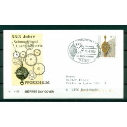 Allemagne  1992 - Y & T n.1459 - Industrie bijoutière et horlogère de Pforzheim
