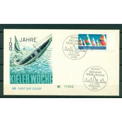 Allemagne  1982 - Y & T n.964 - Semaine de Kiel