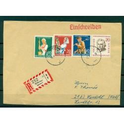 Allemagne 1959 - Michel n.298/300 - n.167 Berlin - Lettre recommandée