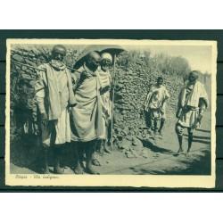 "Ethiopia - Postcard  ""Indigenous life"""