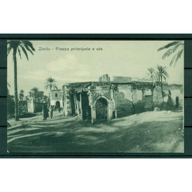 Libye ca. 1910 - Carte postale Zaouia