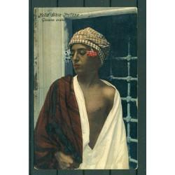 """Libya ca. 1910 - Postcard  """"joung Arab"""""""