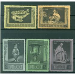 URSS 1966 - Y & T n. 3190/94 - Musée de l'Ermitage