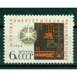 URSS 1968 - Y & T  n. 3361  - Conférence énergétique mondiale