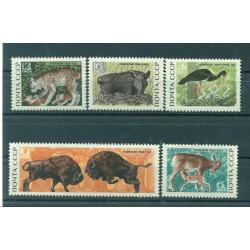 URSS 1969 - Y & T n. 3528/32 - Belovejskaja Poutscha