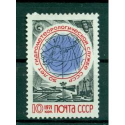 USSR 1971 - Y & T n. 3728 - Hydrometeorology