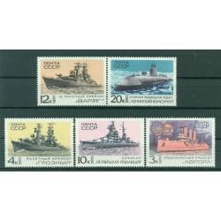 URSS 1970 - Y & T n. 3637/41 - Journée de la marine de guerre